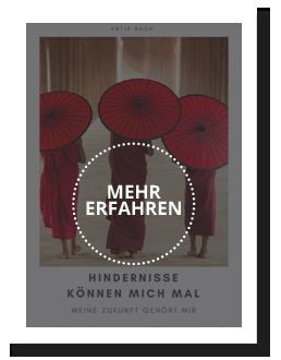 Antje Bach, E-Book, Hindernisse können mich mal, Meine Zukunft gehört mir