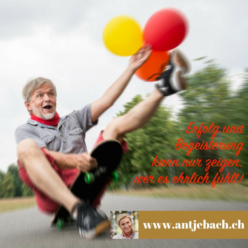 Antje Bach, inspiriert, Zitat, Zitatekarte, Erfolg, Begeisterung, fühlen, Unternehmen, Arbeit