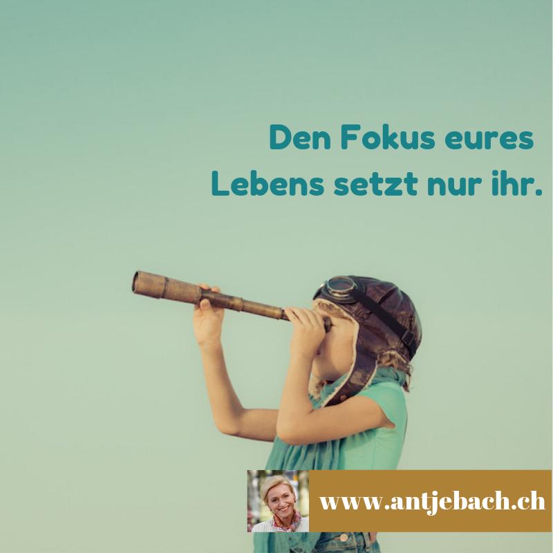 Antje Bach, Leben, Fokus, Entscheidung