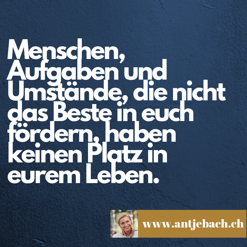 Inspiriert – Fördern – Antje Bach