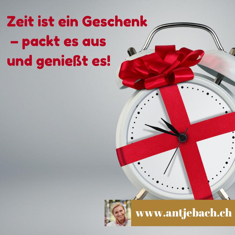 Antje Bach, Geschenk, Zeit, inspiriert, Zitat, Zitate, Zitatekarte
