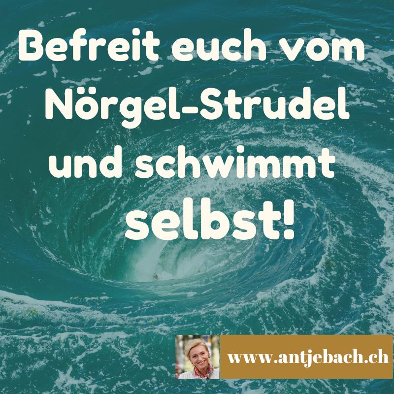 Antje Bach – Inspiriert – Nörgeln