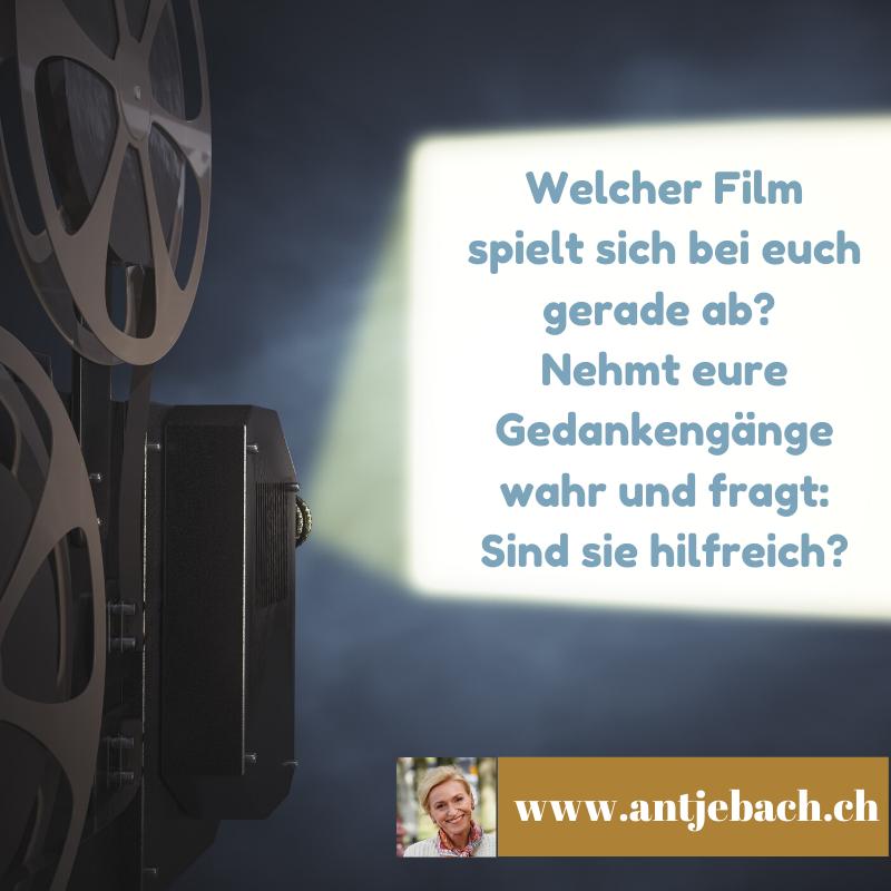 Film, Kopfkino, Kinofilm, Inspiriert, Gedanken, Antje Bach